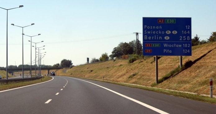 nowe drogi w Polsce