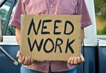 poziom bezrobocia w USA